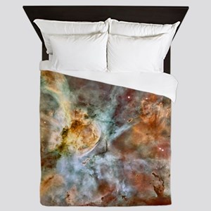 Hubble Telescope Carina Nebula Queen Duvet Cover